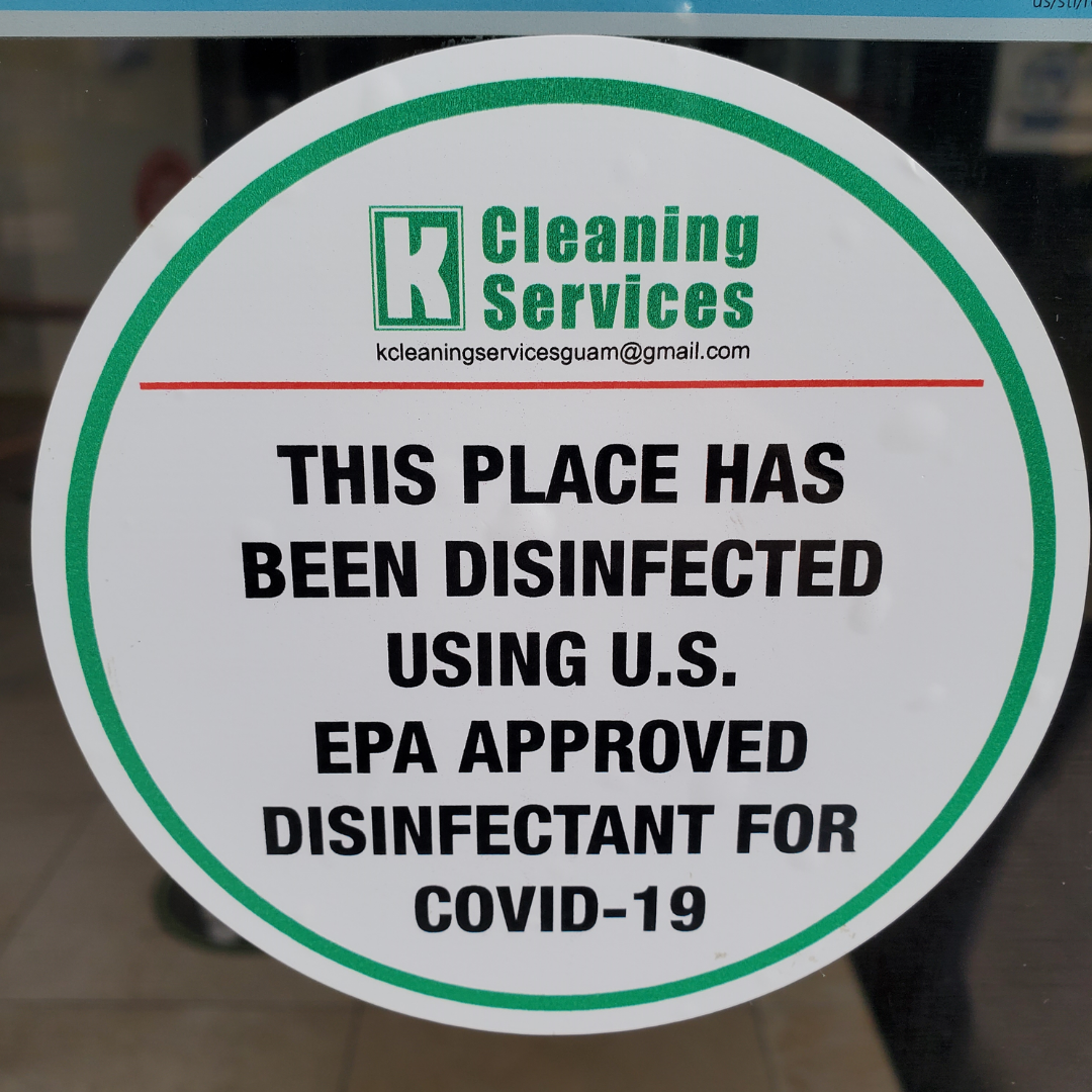 Disinfectant - updated